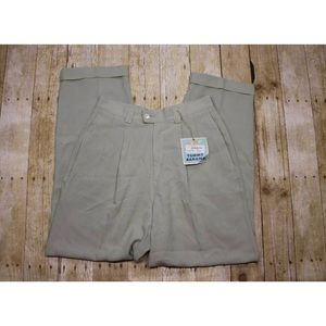 Womens 12 Tommy Bahama Pants Cuffed Silk Catnip